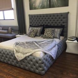 Photo Of Off The Bolt   Northridge, CA, United States. Custom Tufted Bed