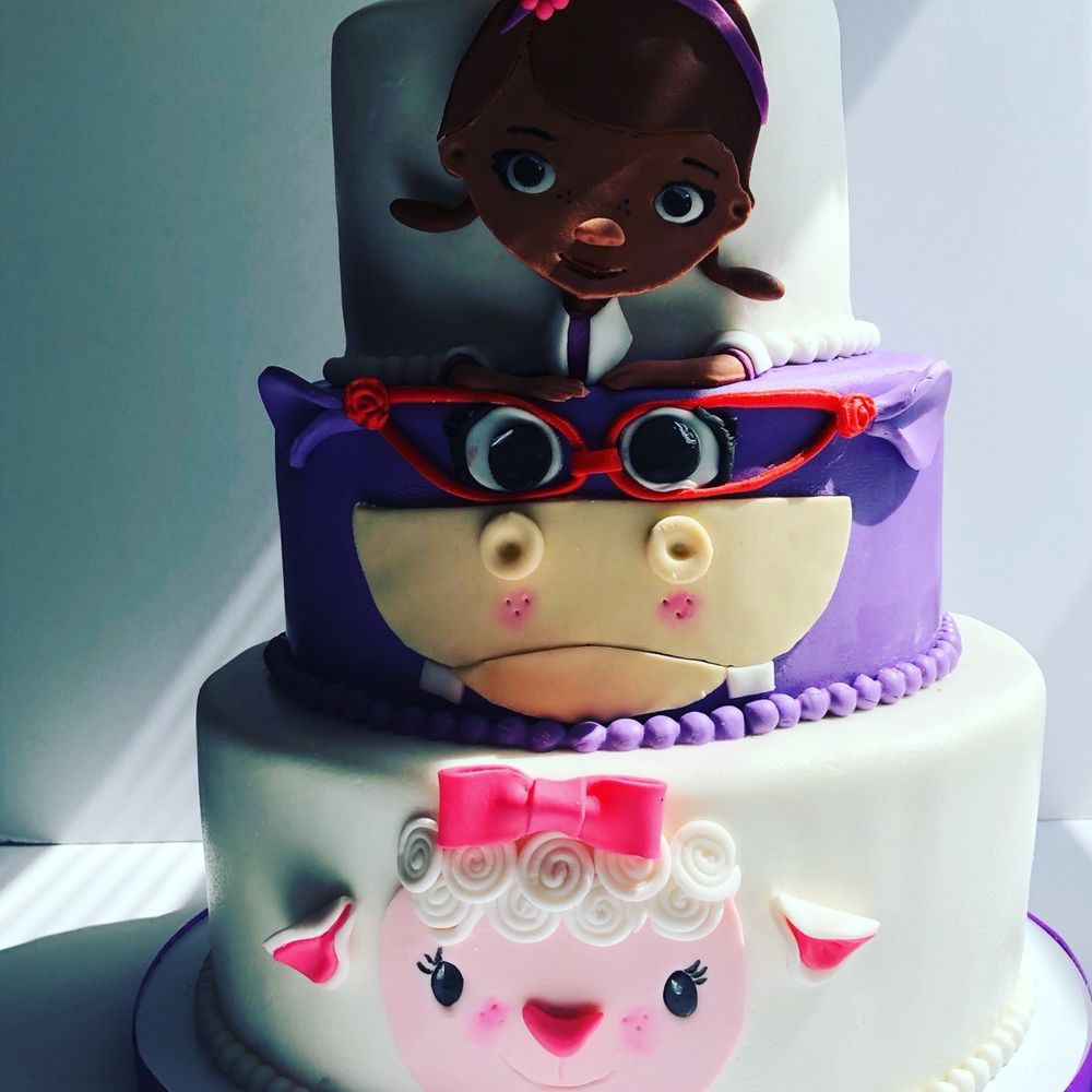 Doc Mcstuffins Birthday Cake Yelp