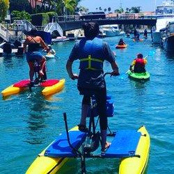 Larawan Ng Long Beach Waterbikes Ca Estados Unidos Day Ride