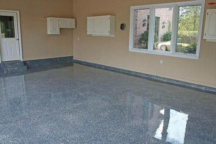 Blue Epoxy Floor Quartz Sand Decorative Broadcast With