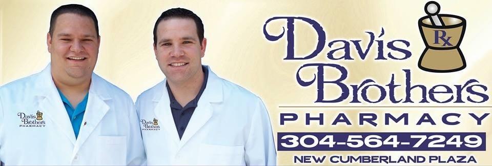 Davis Brothers Pharmacy: 615 N Chester St, New Cumberland, WV