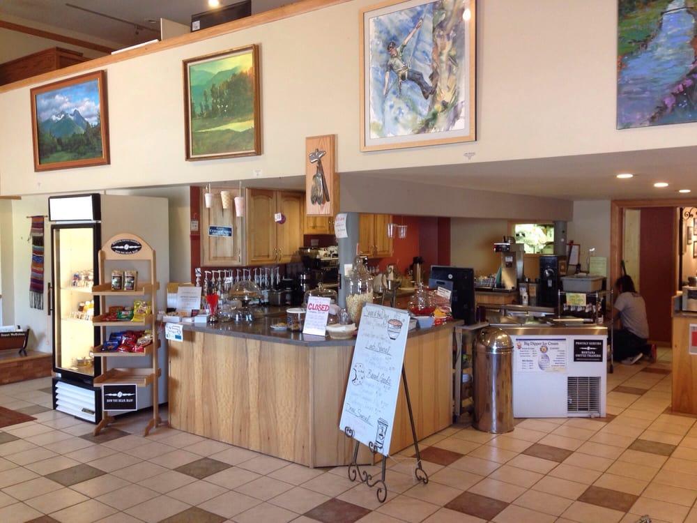 Hangin Art Gallery & Coffee House: 92555 Hwy 93, Arlee, MT