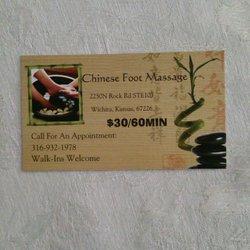 Chinese Foot Massage Massage 2240 N Rock Rd Wichita Ks Phone