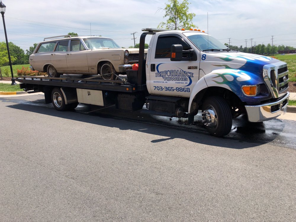 Performance Towing: 8266 Lucy Ave, Warrenton, VA