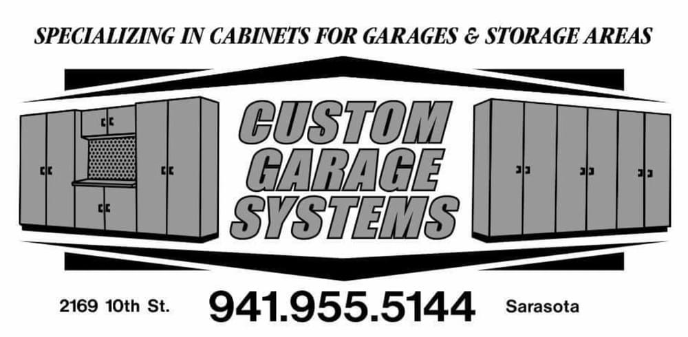 Custom Garage Systems   13 Photos   Cabinetry   2169 10th St, Sarasota, FL    Phone Number   Yelp