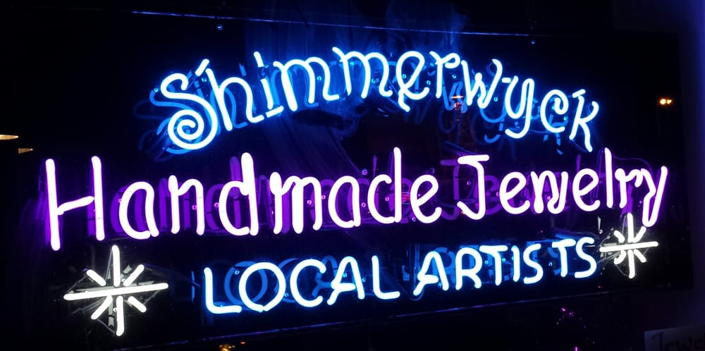Step into the bright funky wonderland that is shimmerwyck for Local handmade jewelry near me