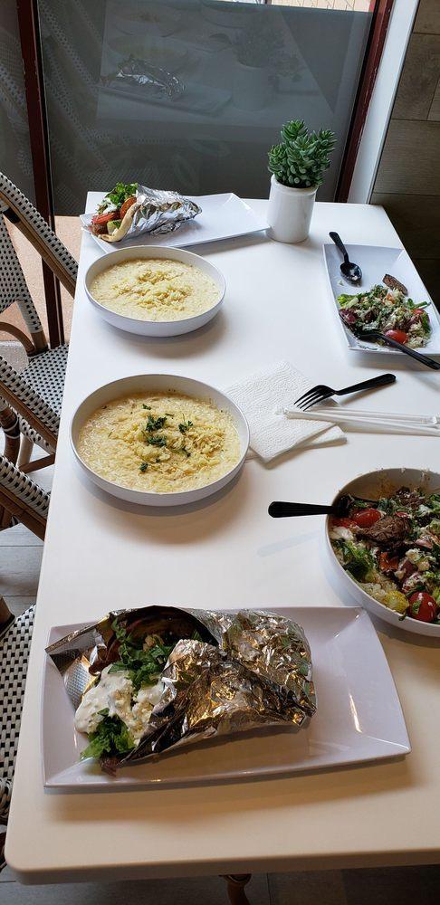Orzo Mediterranean Grill: 11627 Olive Blvd, Creve Coeur, MO