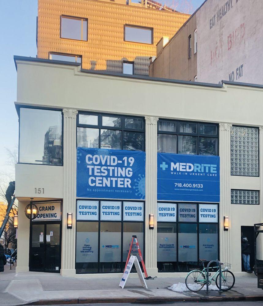 MedRite Covid Testing Center - Cobble Hill