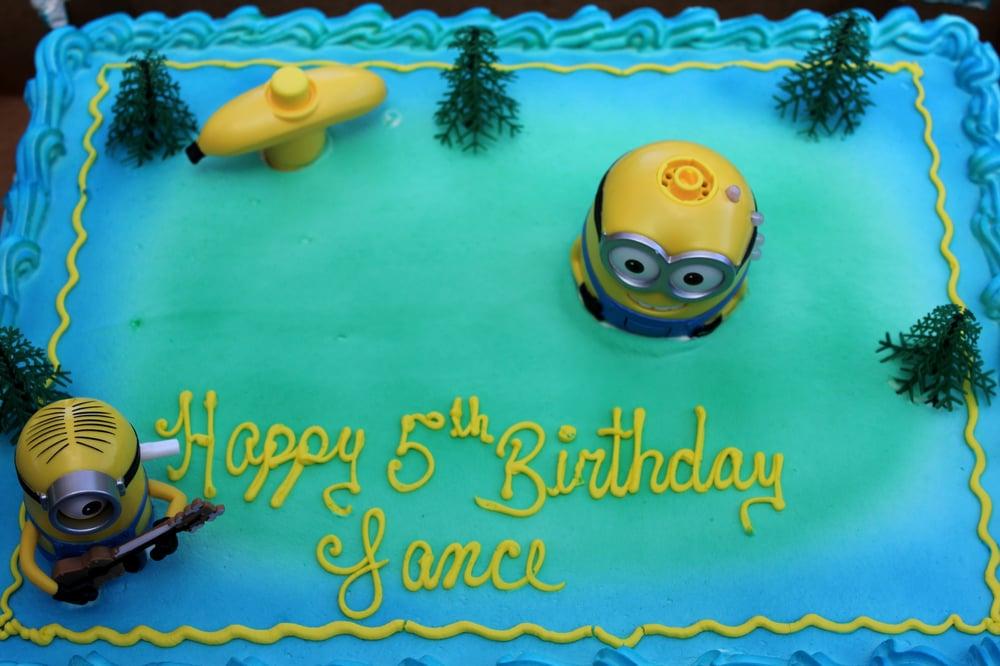 HalfSheet Minion Birthday Cake Yelp
