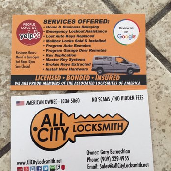 Ben ss reviews bloomington yelp photo of all city locksmith rancho cucamonga ca united states these business colourmoves Choice Image