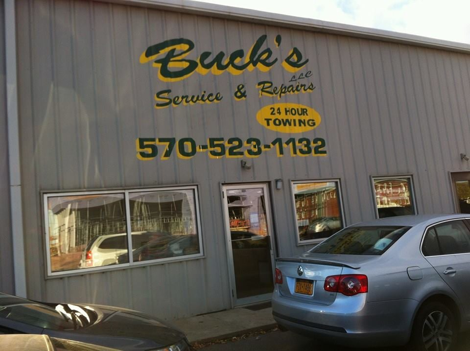 Buck's Service Station: 411 N Derr Dr, Lewisburg, PA