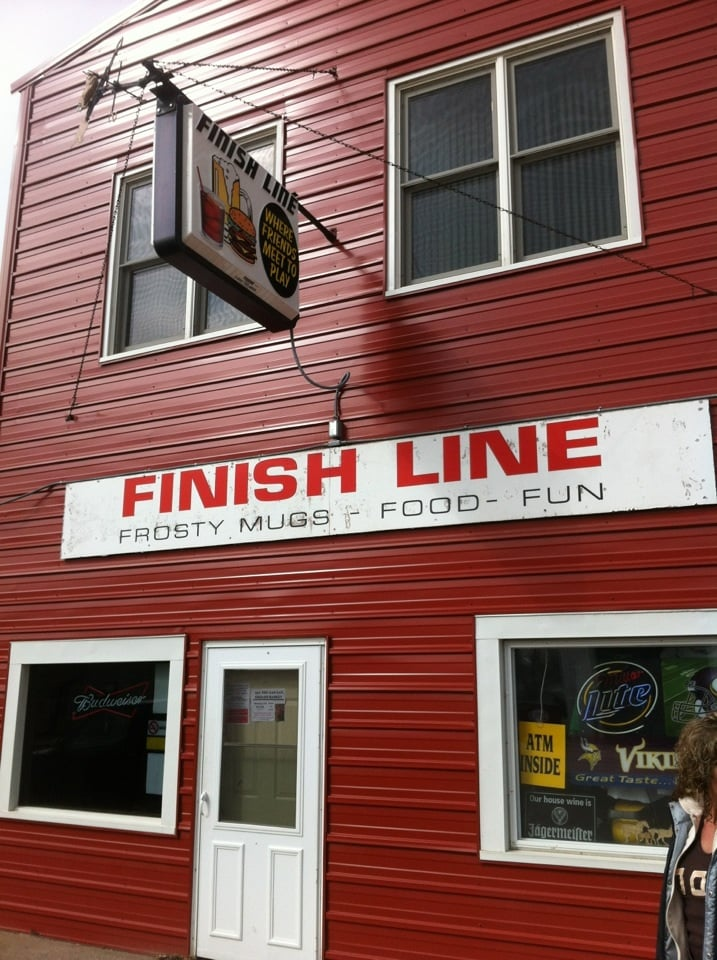 Finish Line: 309 N Hill Ave, Ogilvie, MN
