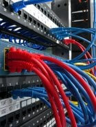 photo of network cabling and fiber optic - baltimore, md, united states  we