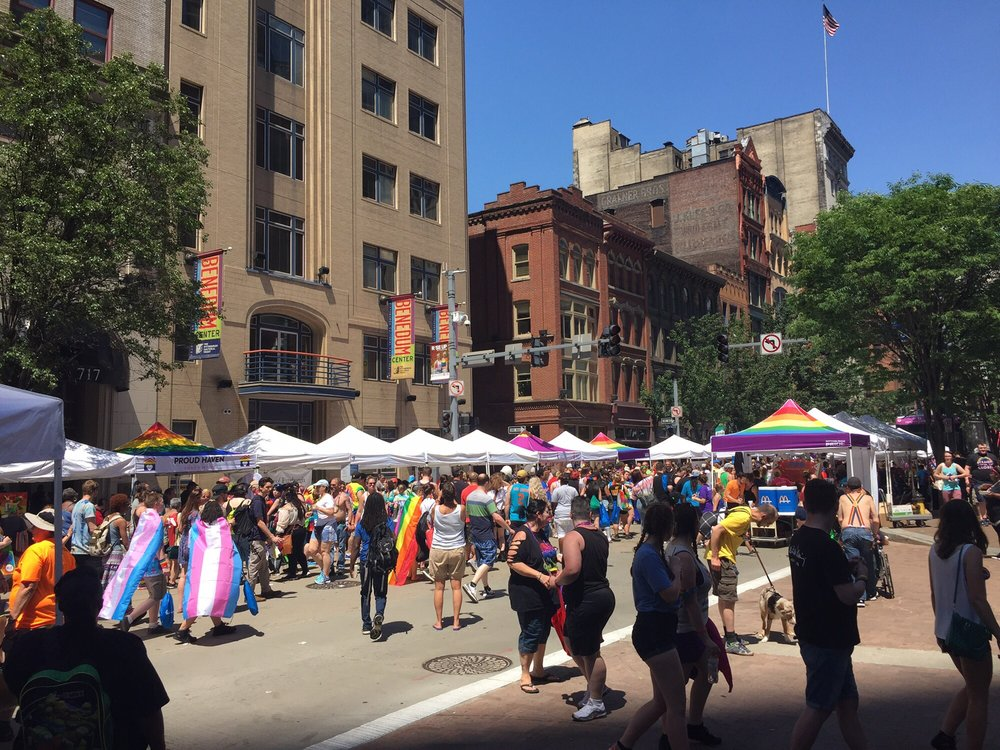 Pittsburgh Pride: 308 7th Ave, Pittsburgh, PA