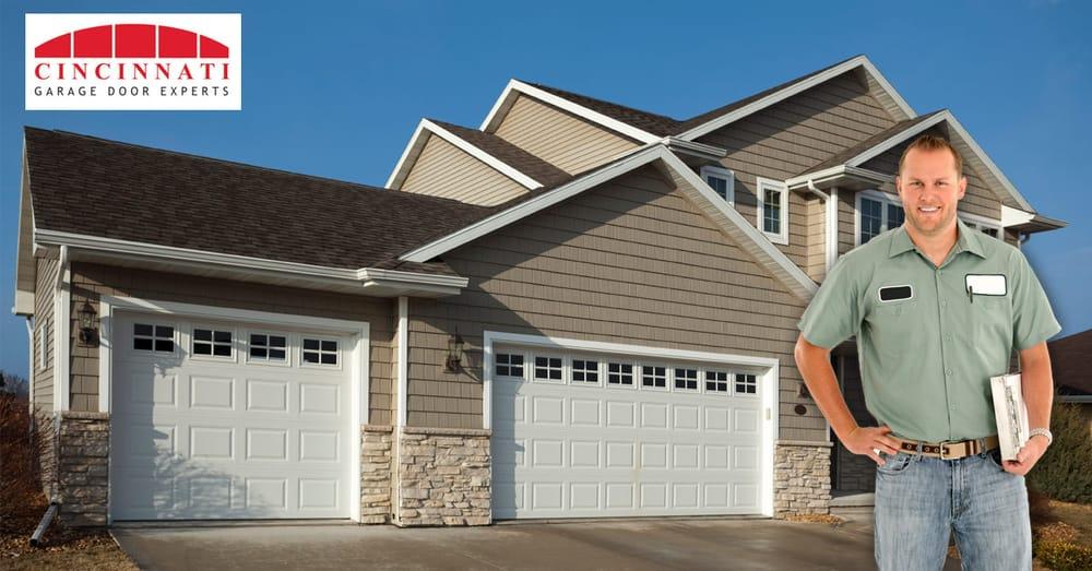 Garage door experts of cincinnati garage door services for Garage doors cincinnati
