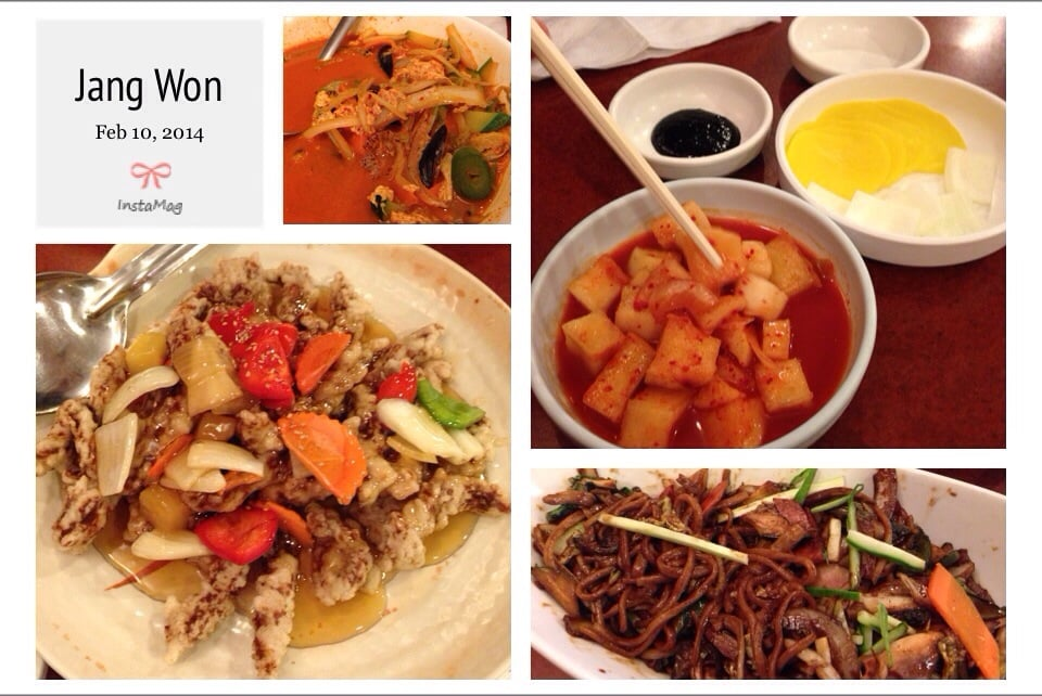 Korean Chinese Food Annandale