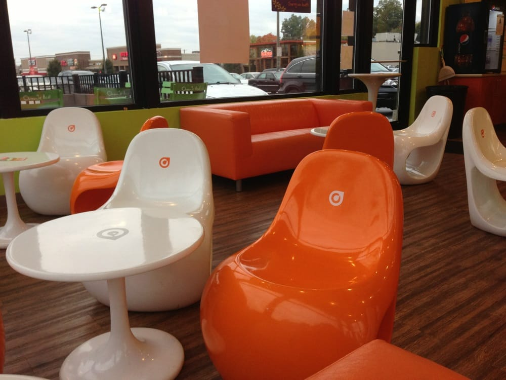 Charmant Photo Of Orange Leaf Frozen Yogurt   Louisville, KY, United States.  Clockwork Orange