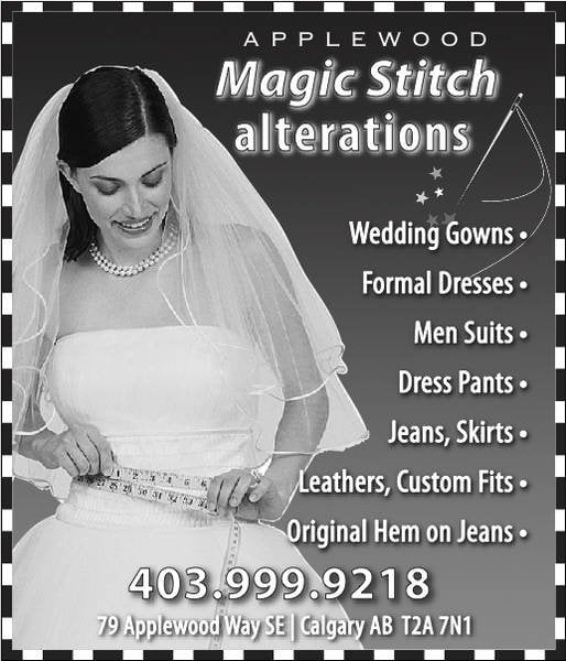We Specialize in Professional Alteration from Bridal Gowns to Prom ...