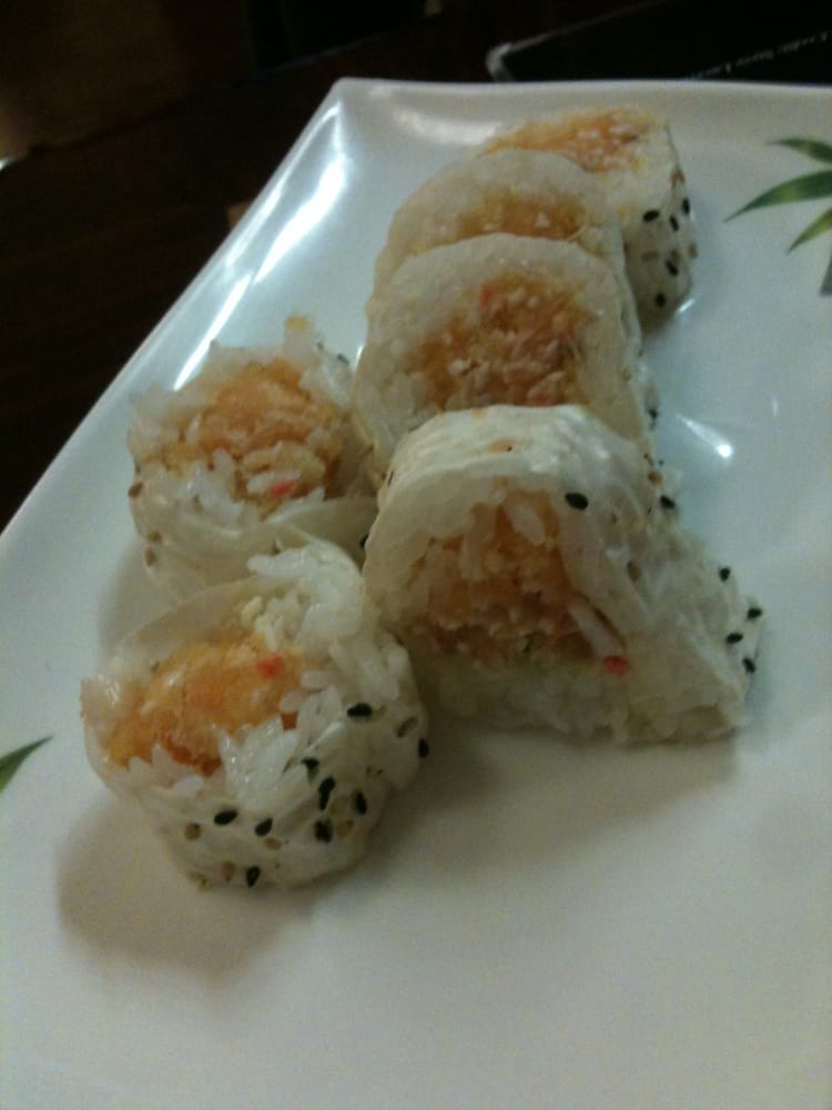Jasmine roll (cut) $1 more for cut vs hand roll - Yelp