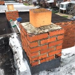 Fresh Roof Leaking Near Chimney