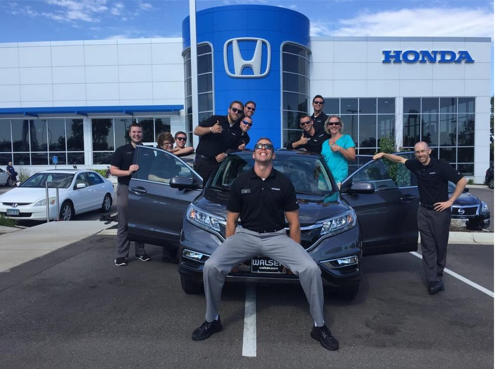 Walser honda 24 photos 26 reviews car dealers for Honda dealership burnsville mn