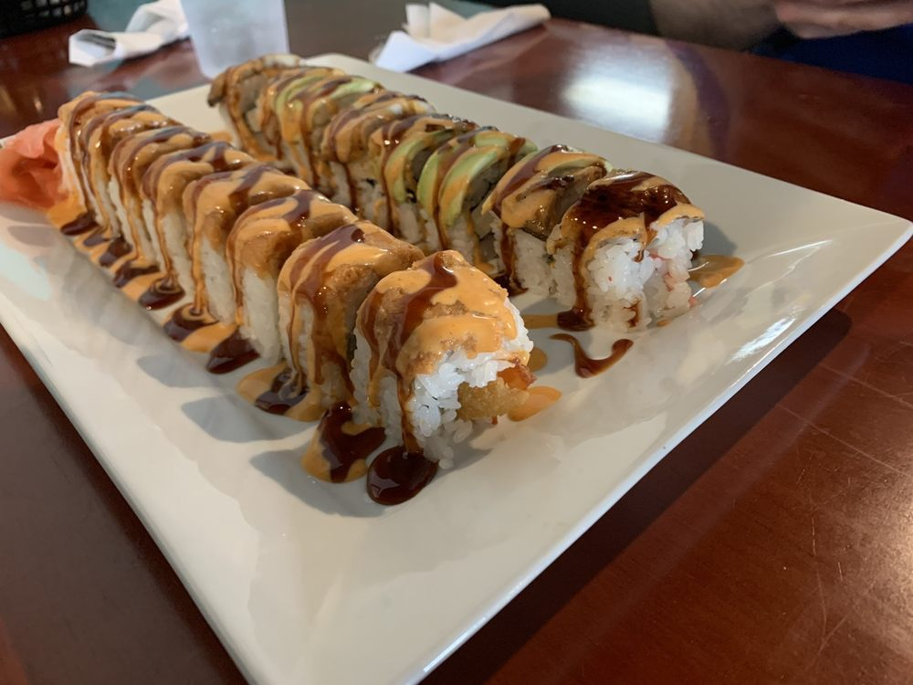 Sakera Hibachi Grill And Sushi Express: 1618 S Broadway St, Pittsburg, KS