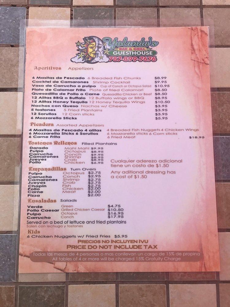 Yolanda's: Puerto Rico 304 Km 3.2, Lajas, PR