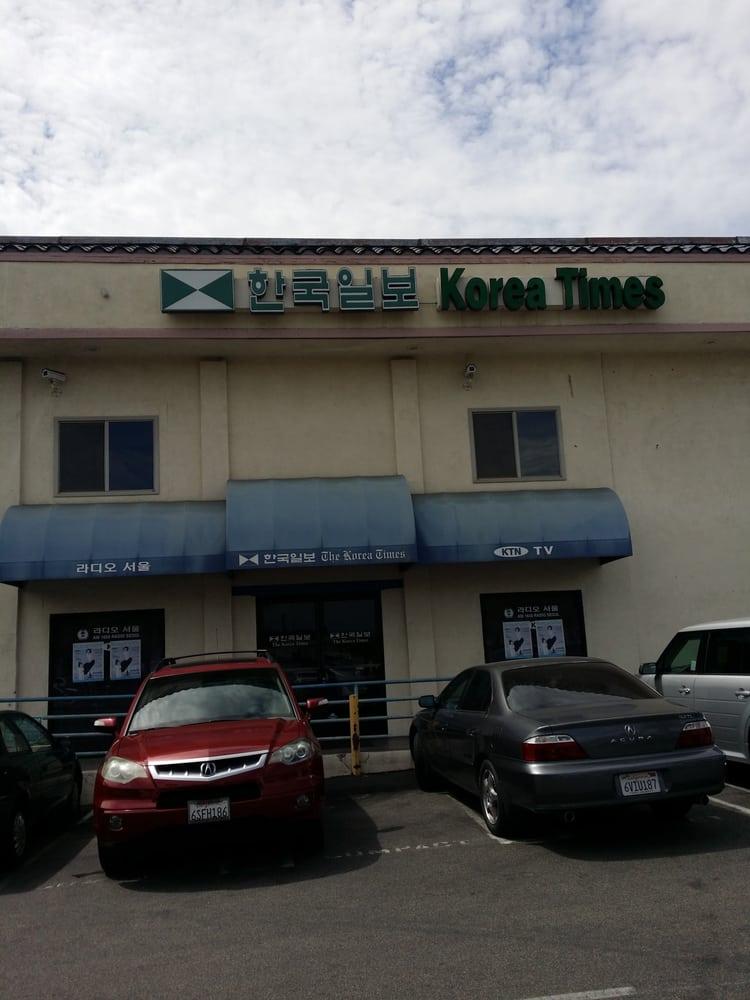 Korea Times Print Media Publications 9562 Garden Grove Blvd Garden Grove Ca United