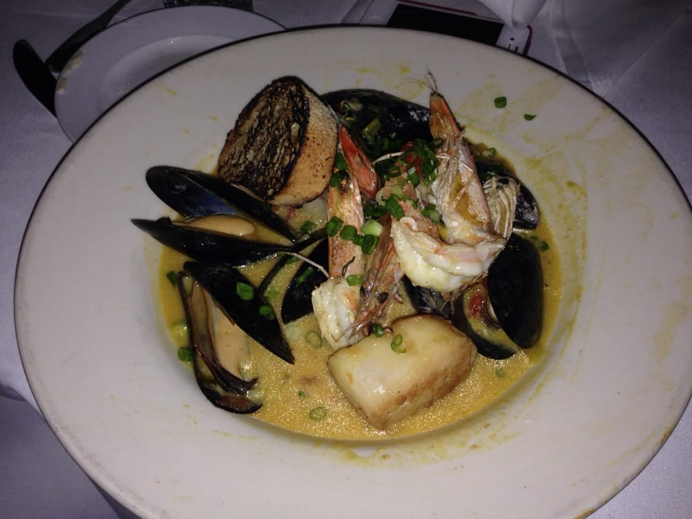 Delicious bouillabaisse also part of the miami spice menu for Fish and grill menu