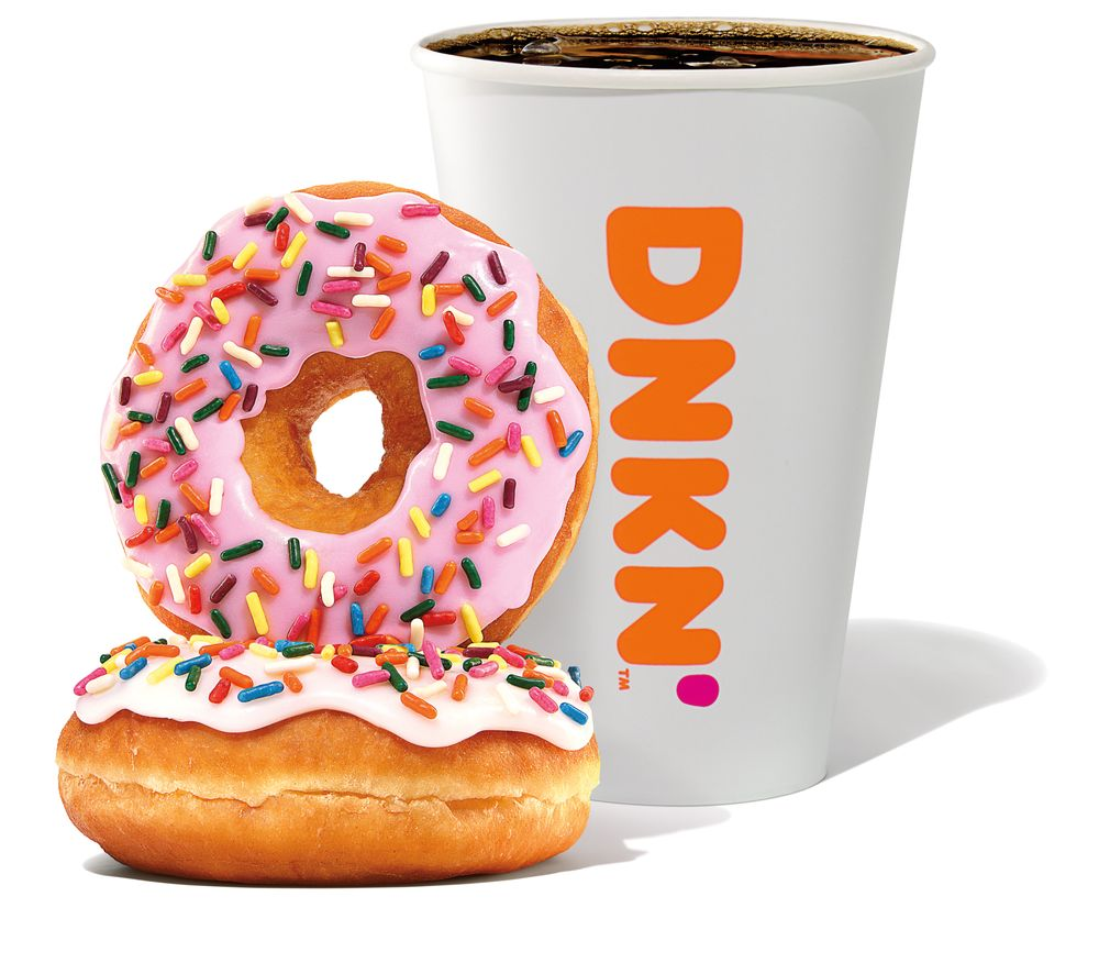 Dunkin': 1801 N Lincoln St, Greensburg, IN