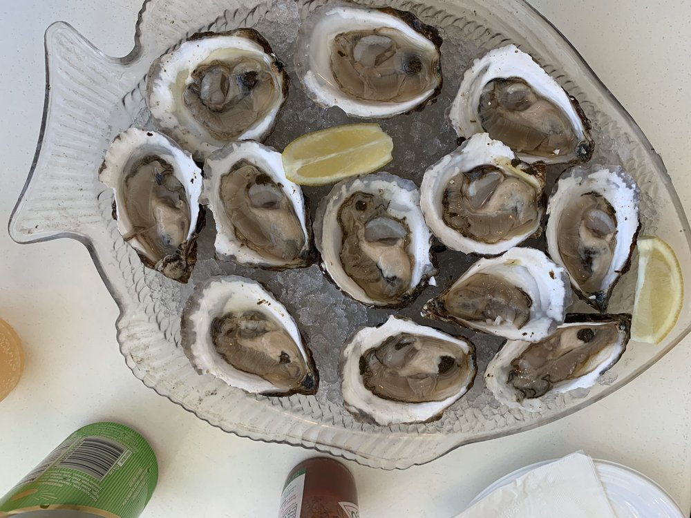 Atlantic Seafood Fish Market and Restaurant: 117 Montauk Hwy, Center Moriches, NY