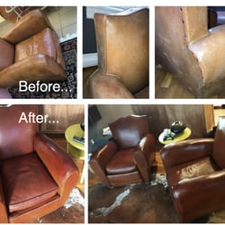 Charmant Photo Of Hub Leather Repair   Framingham, MA, United States. Before And  After