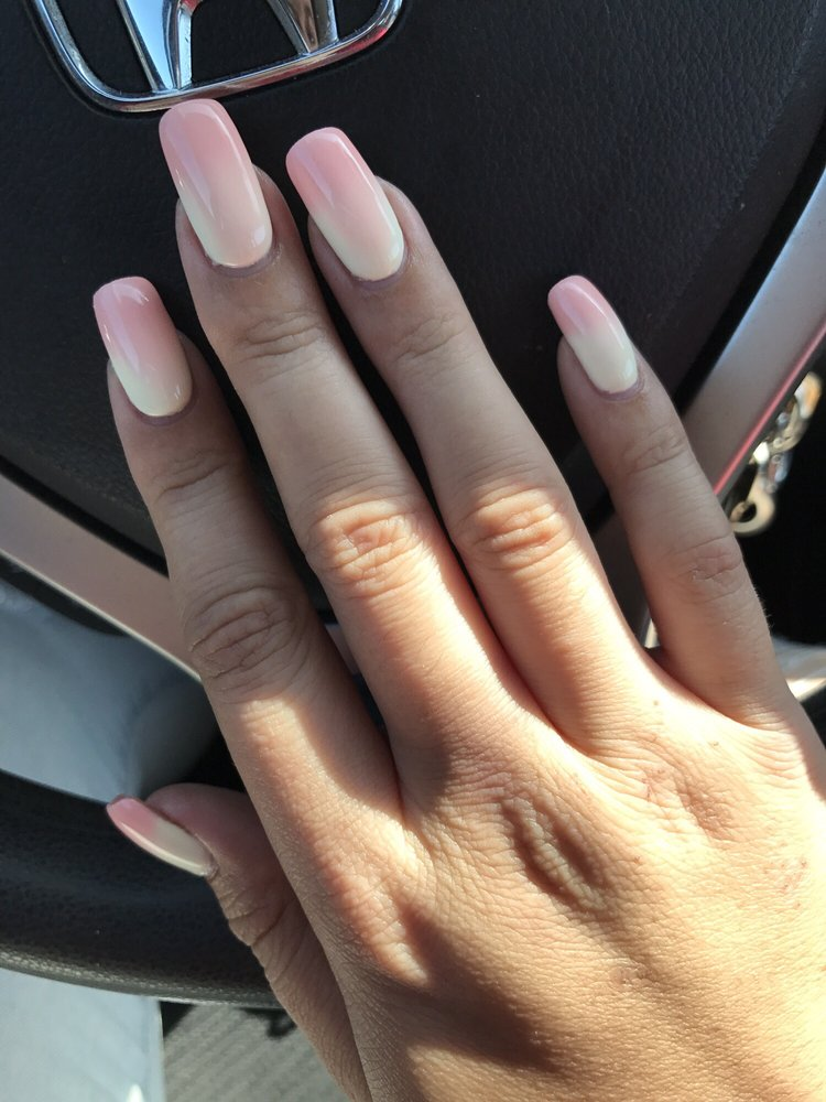 Hard gel on natural nails, mood changing and glow in the dark - Yelp