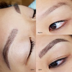 Ellebrow microblading permanent makeup studio 193 for Japanese tattoo eyeliner