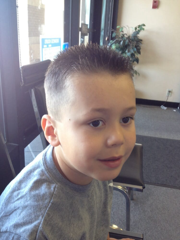 Summer haircut a one on sides a little spiky on top yelp photo of kids carousel cuts vacaville ca united states summer haircut winobraniefo Image collections