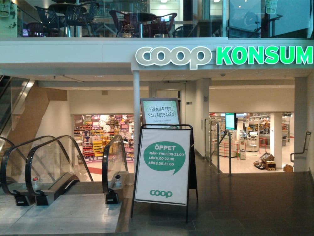 Coop Konsum, Uppsala Entré