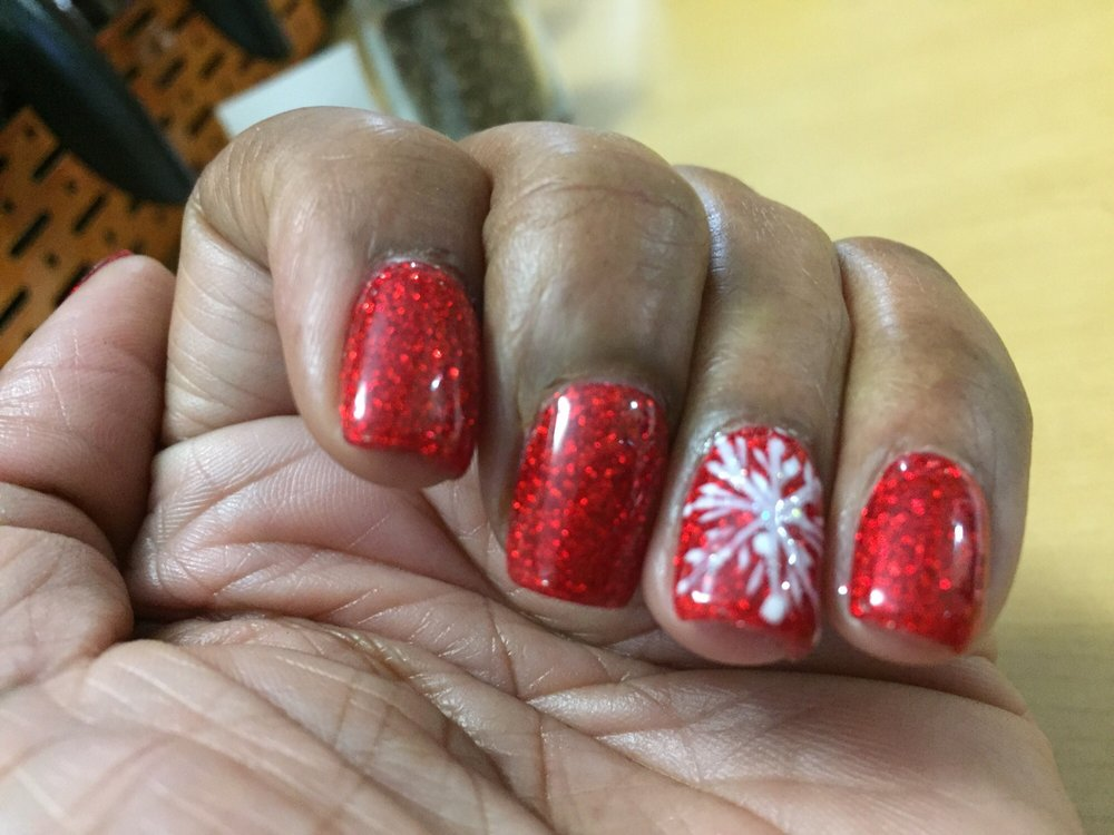 I love my nails. Thanks Tina for the great service and job you did ...