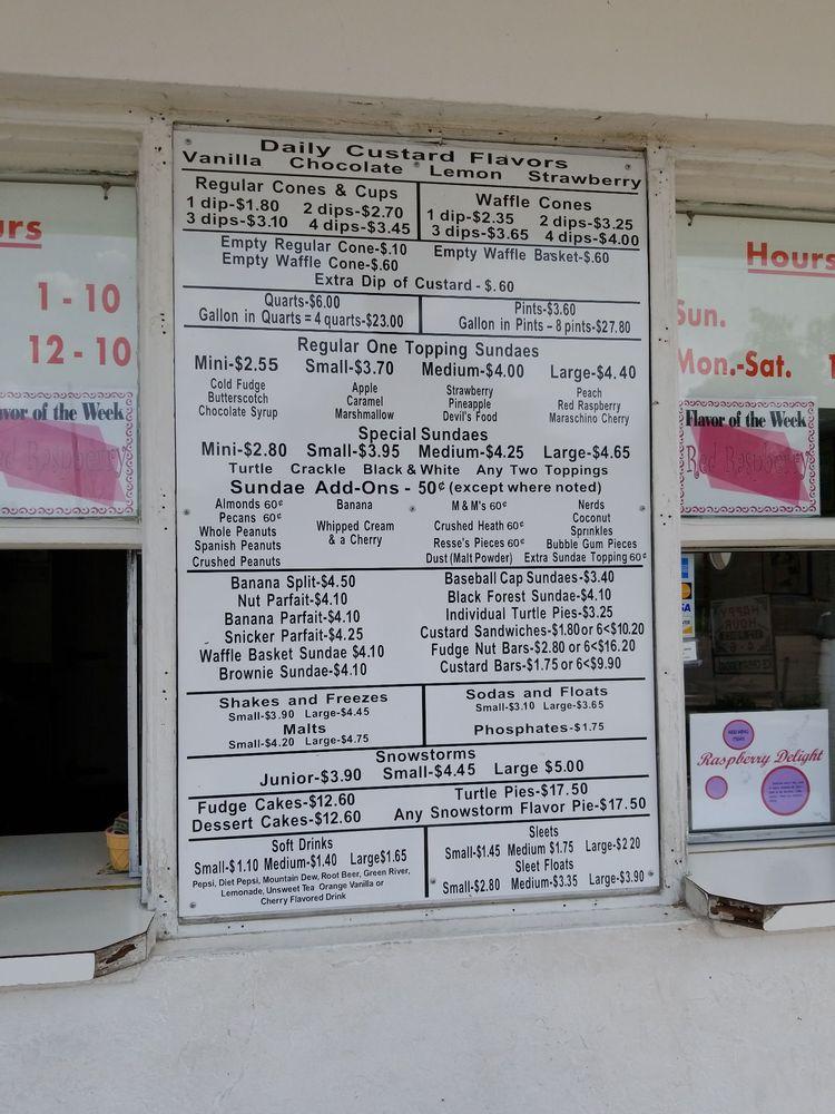 Jarling's Custard Cup: 2507 N Vermilion St, Danville, IL