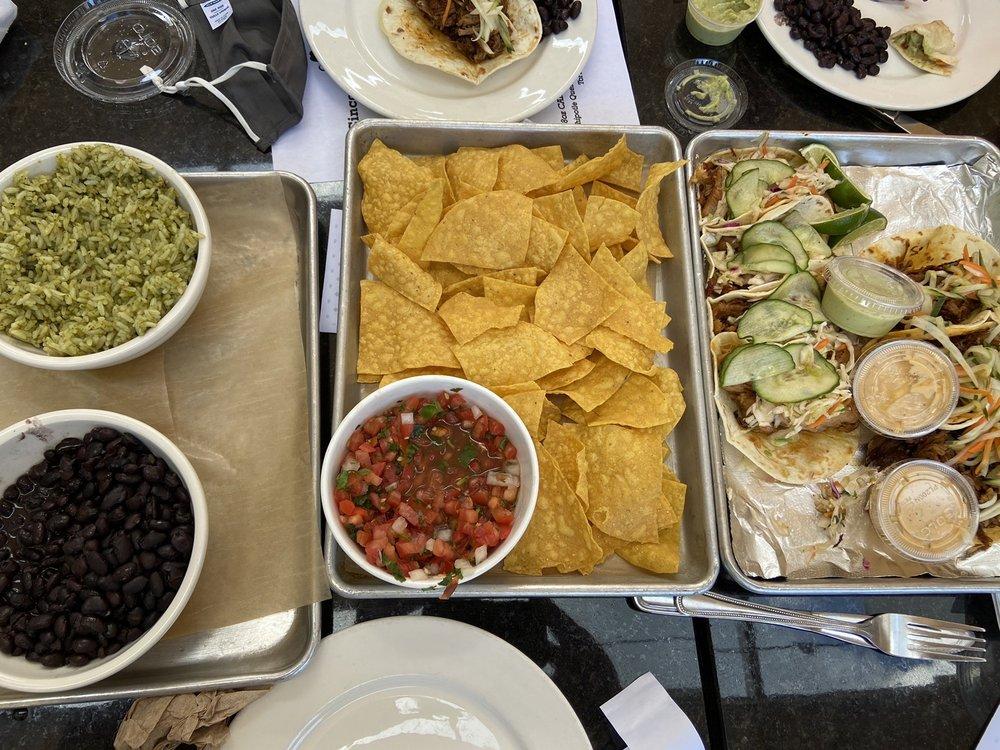 Food from O'ya Cantina