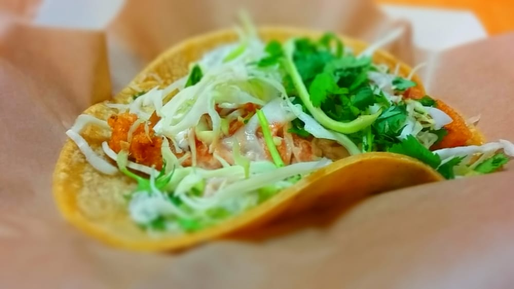 fish tacos especial the original fish taco topped with a
