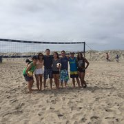 Team Photo Of Ocean Beach Volleyball Courts San Go Ca United States