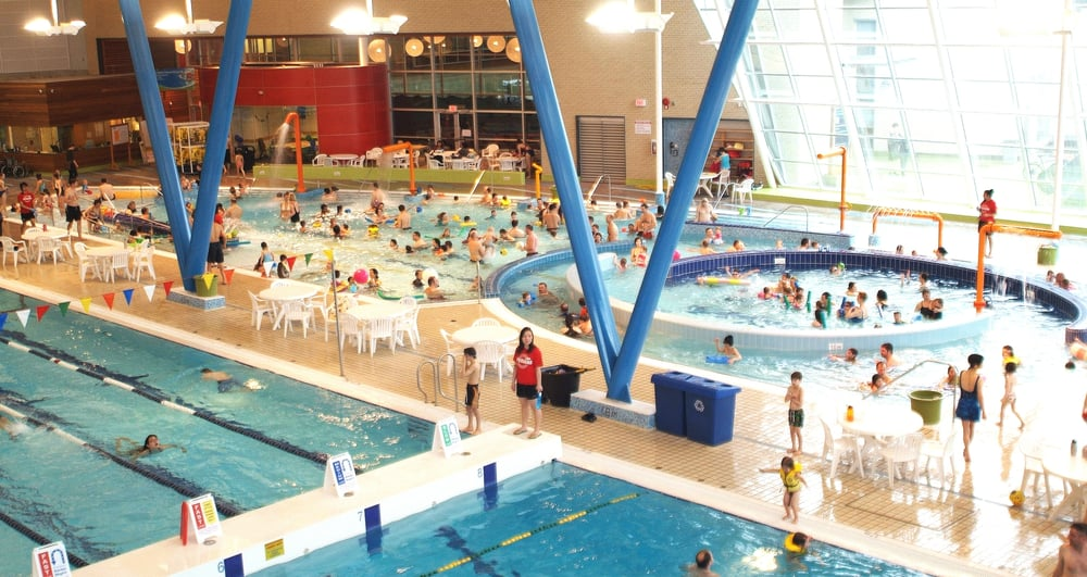 Aquatic centre at hillcrest park 24 reviews swimming - Centennial swimming pool richmond hill ...
