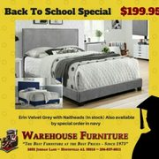 Labor Day Sale ALL Photo Of Warehouse Furniture   Huntsville, AL, United  States. Collegiate Special!