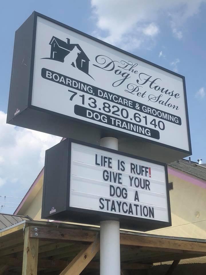 The Dog House Pet Salon: 6434 Washington Ave, Houston, TX
