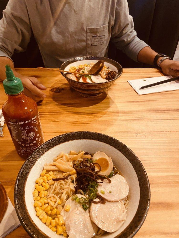 Food from Fuku Ramen