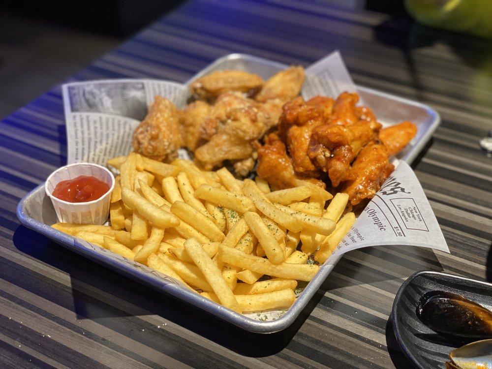 Food from Thank U Chicken