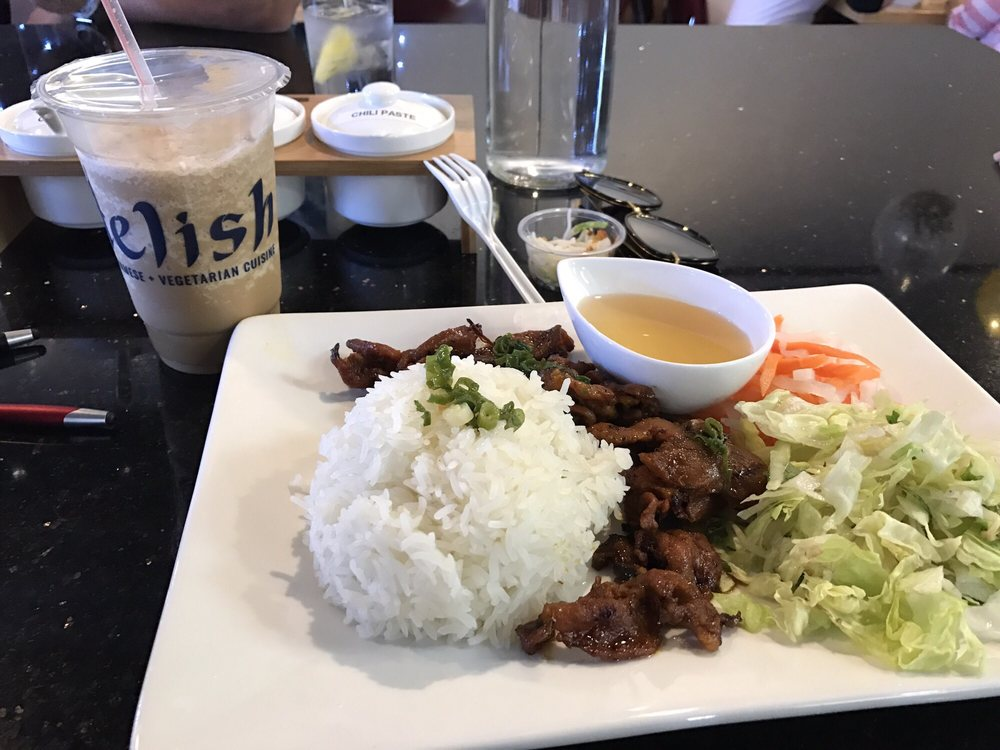 Love the bbq pork with rice yelp for Aiyara thai cuisine temecula ca