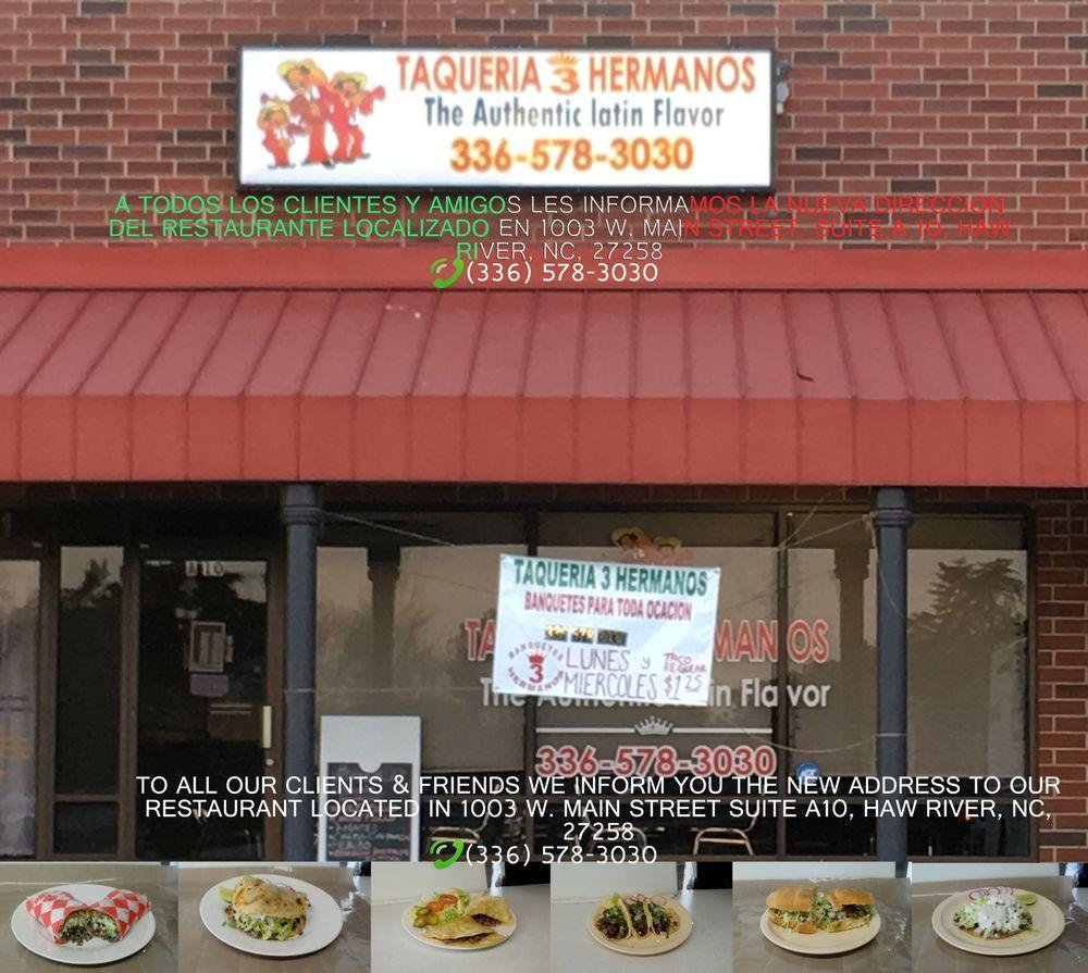 Taqueria Tres Hermanos: 1003 W Main St, Haw River, NC
