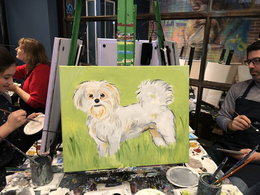 Social Spots from Muse Paintbar