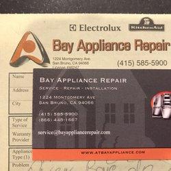 At Bay Appliance Repair 93 Reviews Appliances Amp Repair